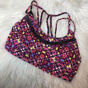 Victoria's Secret strappy back sports bra size S